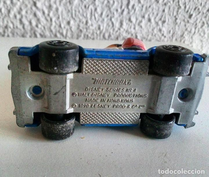 Coches a escala: Coche con Minie Matchbox 1979 Disney serie 4 coleccionistas - Foto 3 - 186160087
