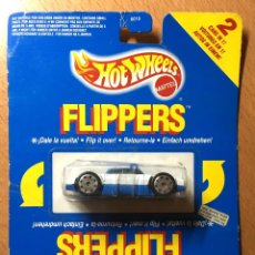 Coches a escala: HOTWHEELS FLIPPERS - 2 COCHES EN UNO. Lote 186400112