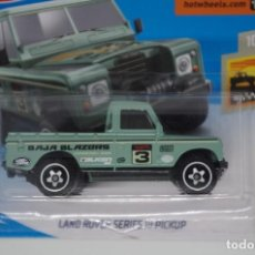 Auto in scala: HOT WHEELS LAND ROVER SERIES III PICKUP BAJA BLAZERS. Lote 187321118