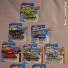 Auto in scala: LOTE 8 HOT WHEELS DIFERENTES SIN ABRIR. Lote 187354593