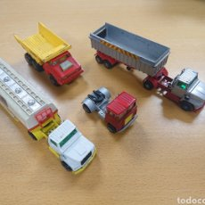 Coches a escala: LOTE MATCHBOX CAMIÓN SCAMMELL FORD CISTERNA SHELL DUMPER LAING N7. Lote 187459152