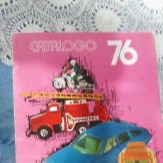 Coches a escala: GUISVAL- CATALOGO GENERAL 1976-RARO!!!. Lote 187841331