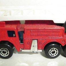 Coches a escala: CAMION DE BOMBEROS FIRE ENGINE 1982 MATCHBOX . Lote 189237247
