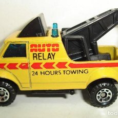 Coches a escala: GRUA AUTO RELAY MATCHBOX. Lote 189237392