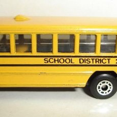 Coches a escala: AUTOBUS SCHOOL BUS DISTRICT 2 MATCHBOX. Lote 190196863
