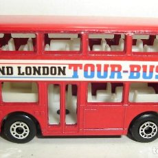 Coches a escala: BUS LEYLAND TITAN TOUR BUS MATCHBOX. Lote 190197075