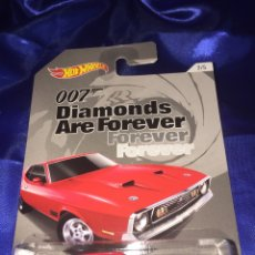 """Coches a escala: HOT WHEELS 007 """"71 MUSTANG MACH I. Lote 190348007"""