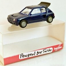 Coches a escala: 1/87 HO HERPA PEUGEOT 205 TURBO. Lote 153891850