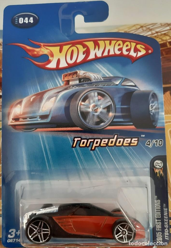 HOT WHEELS 2005 FIRST EDITIONS TORPEDOES ITSO-SKEENIE #044