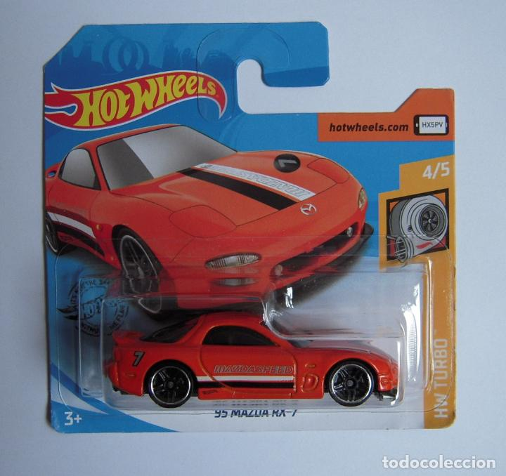 Hot-wheels Colección 2020 '95 Mazda Rx-7 Hw Tur