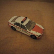 Coches a escala: BMW 320I SIKU, POLIZEI,METAL AÑOS 90,ESCALA 1/55. Lote 192384708