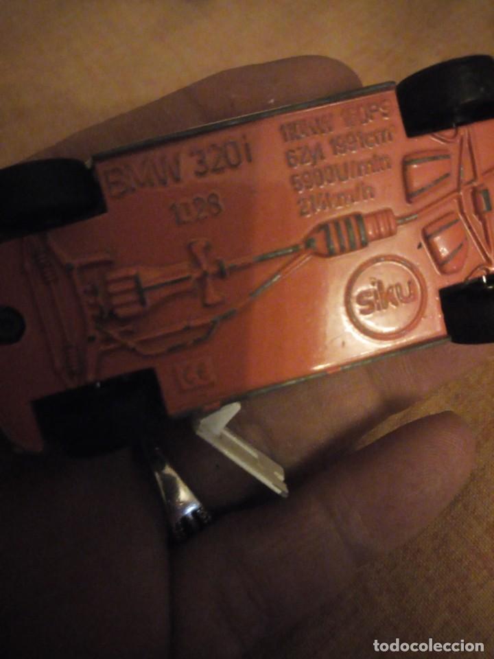Coches a escala: bmw 320i siku, polizei,metal años 90,escala 1/55 - Foto 4 - 192384708