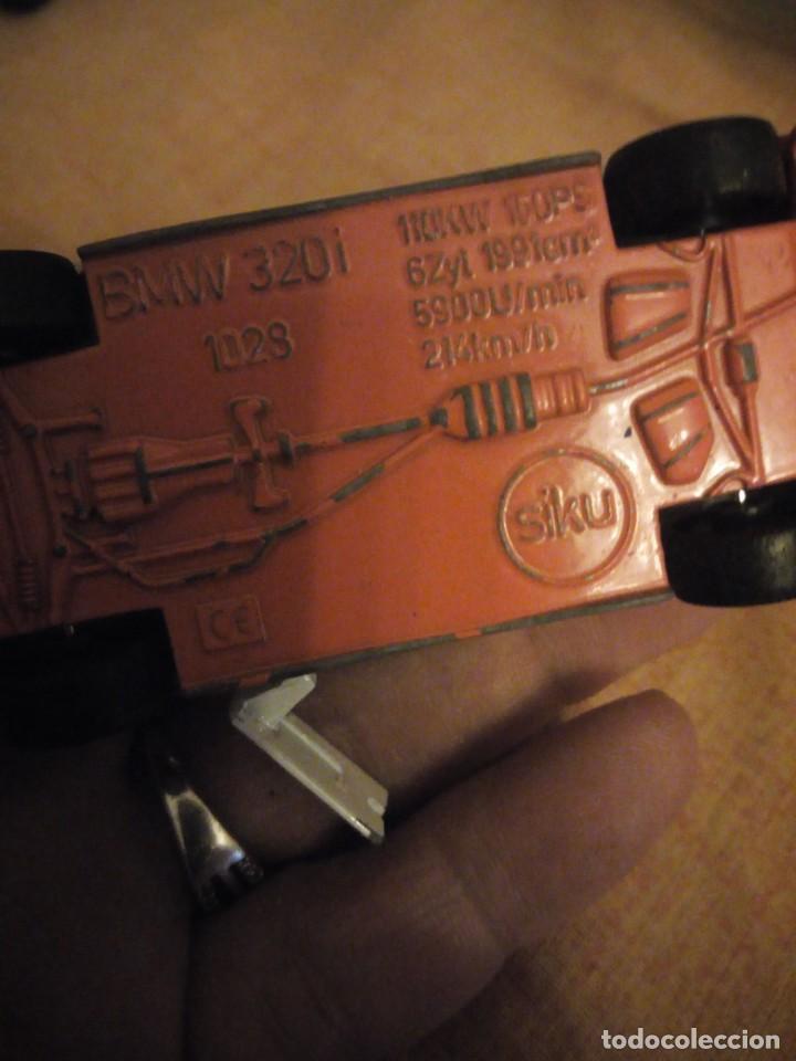 Coches a escala: bmw 320i siku, polizei,metal años 90,escala 1/55 - Foto 5 - 192384708