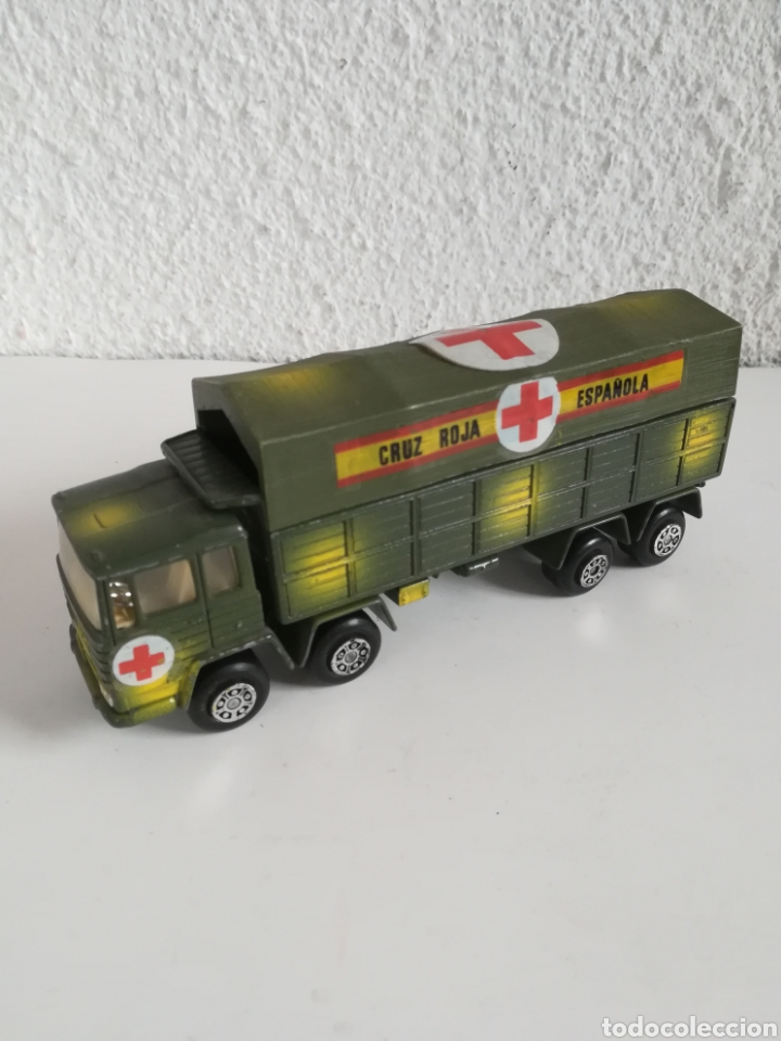 Coches a escala: Camión Pegaso Cruz Roja Española - Fabricado por Mira - Miniatura Escala 1/64 - Militar Ejército - Foto 6 - 194224816