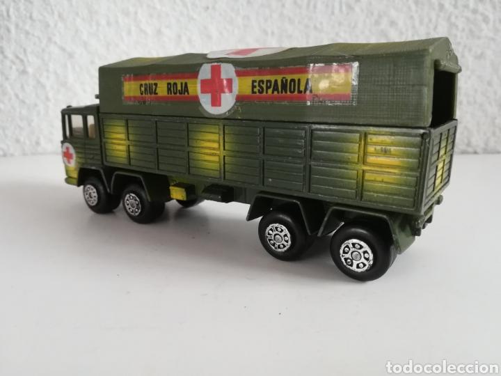 Coches a escala: Camión Pegaso Cruz Roja Española - Fabricado por Mira - Miniatura Escala 1/64 - Militar Ejército - Foto 20 - 194224816