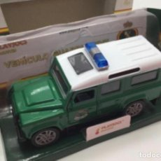 Auto in scala: LAND ROVER GUARDIA CIVIL. VEHÍCULO METÁLICO PLAYJOCS. Lote 194245450