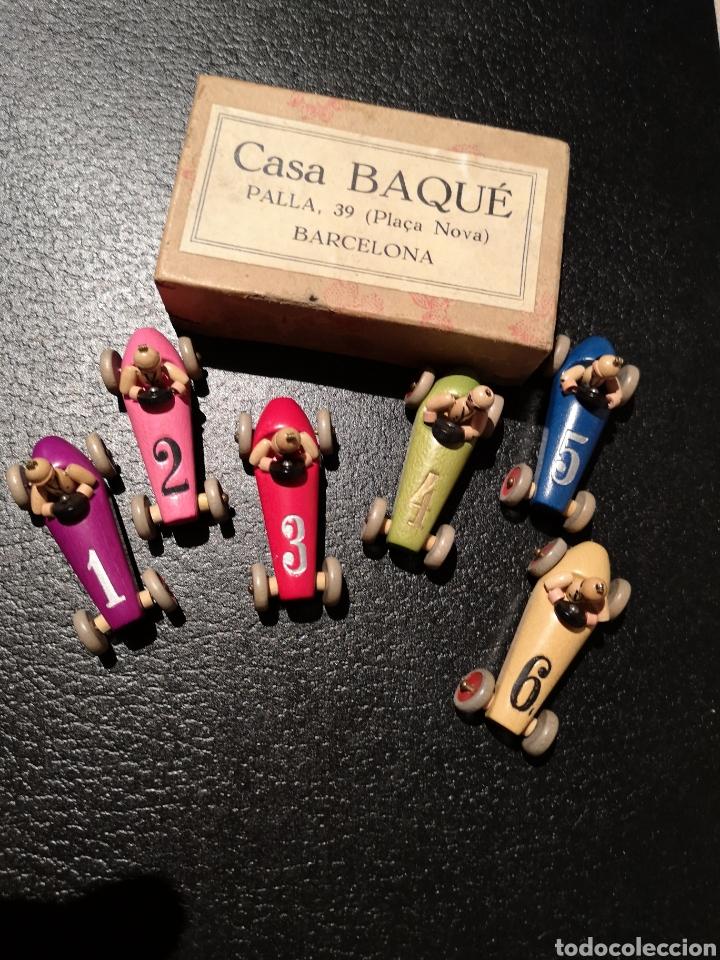Coches a escala: Juego de Cochecitos de Carreras de Madera Casa Baqué - Foto 26 - 194250437