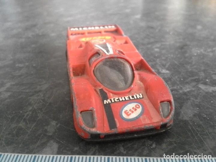 Coches a escala: porsche 962 c rojo de guisval echo en españa . coche - Foto 2 - 194253755
