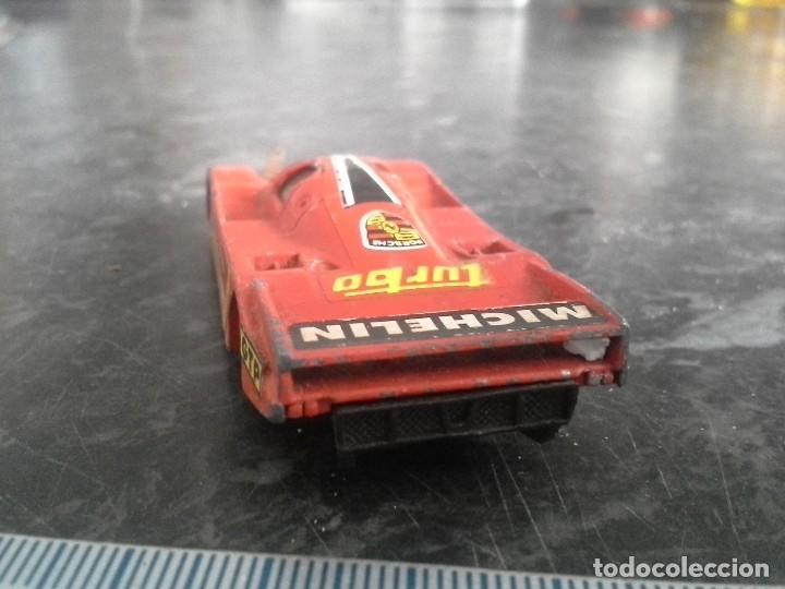 Coches a escala: porsche 962 c rojo de guisval echo en españa . coche - Foto 4 - 194253755