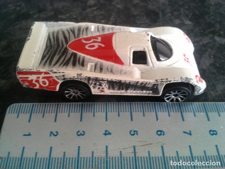 Coches a escala: coche sport proto blanco de majorette nº 235 escala 1/62 - Foto 3 - 194253918