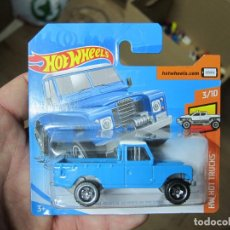 Coches a escala: HOT WHEELS - LAND ROVER SERIES III PICKUP (E). Lote 194323802