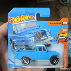 Coches a escala: HOT WHEELS - LAND ROVER SERIES III PICKUP (F). Lote 194323828