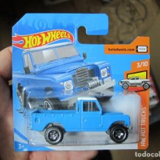 Coches a escala: HOT WHEELS - LAND ROVER SERIES III PICKUP (G). Lote 194323857