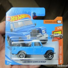 Coches a escala: HOT WHEELS - LAND ROVER SERIES III PICKUP (H). Lote 194323876