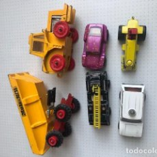 Coches a escala: MATCHBOX LESNEY PRODUCTS LOTE ROD ROLLER POLICE PATROL BLAZE BUSTER BEACH BUGGY K-5 MUIR HILL . Lote 194326238