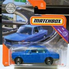 Coches a escala: MATCHBOX BMW 2002 '69 AZUL 2020 1:64. Lote 194334906