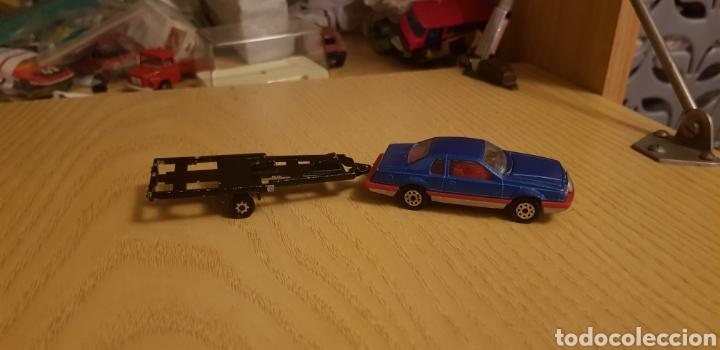 Coches a escala: Ford tunderbird +remolque majorette - Foto 2 - 194337325