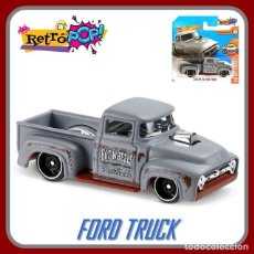 Coches a escala: HOT WHEELS CUSTOM 56 FORD TRUCK. LOTE DTX35. COCHES COLECCIÓN HOT WHEELS. Lote 179184933