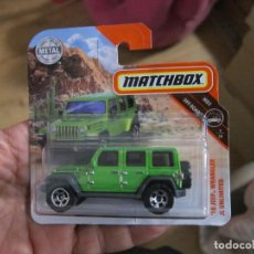 Coches a escala: MATCHBOX - '18 JEEP WRANGLER JL UNLIMITED. Lote 194369660