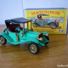 Auto in scala: Y14-2, MATCHBOX YESTERYEAR 1911 MAXWELL ROADSTER CON SU CAJA ORIGINAL.. Lote 194389507