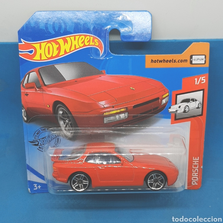 HOT WHEELS - PORSCHE 944 TURBO '89 (Juguetes - Coches a Escala Otras Escalas )