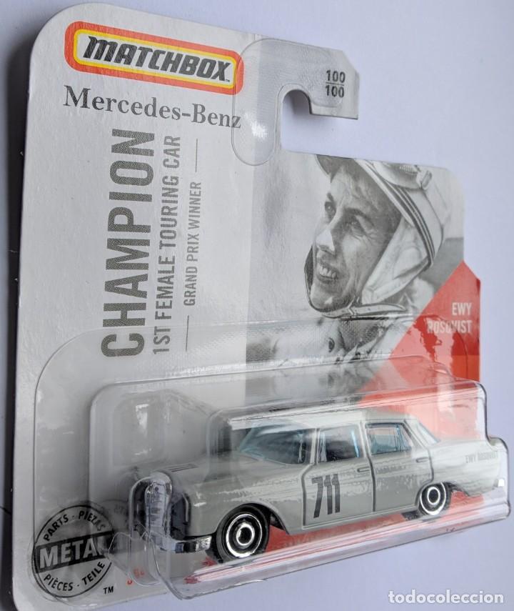 1:64 Matchbox 62 mercedes benz 220 se sedan Champion Ewy roisqvist 1st 30782