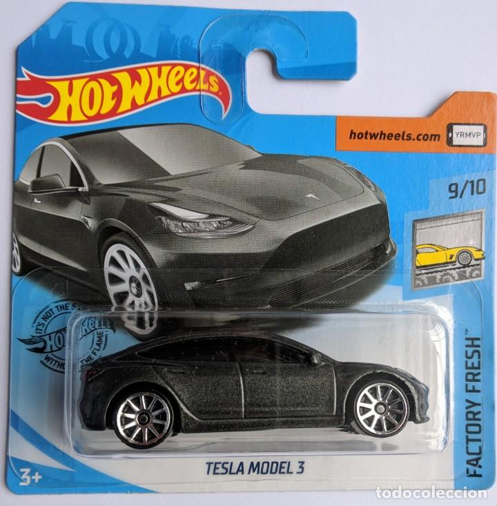 Hot Wheels Tesla Model 3 Factory Fresh 9 10 Buy Model Cars At Other Scales At Todocoleccion 206833676