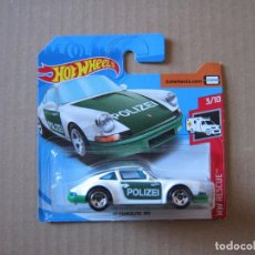 Coches a escala: HOT WHEELS - '71 PORSCHE 911 POLIZEI. Lote 194616491