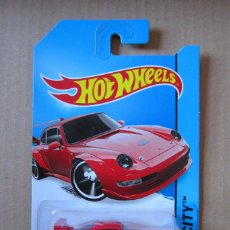 Coches a escala: HOT WHEELS - PORSCHE 993 GT2. Lote 194616907