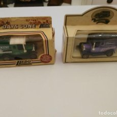 Coches a escala: 2 COCHES DE EPOCA -ZEROLENE - DAYS GONE LLEDO - CHOCOLATE ECLAIRS. Lote 194640337