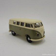 Coches a escala: BREKINA 3150 VW T1 (T1B) BUS 1950-1967. ESCALA 1/87 H0 (3688) . Lote 194654512