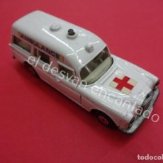 Coches a escala: MATCHBOX AMBULANCE MERCEDES BENZ. SPEED KINGS. Lote 194669933