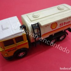 Coches a escala: MATCHBOX SUPER KINGS. IVECO CAMION CISTERNA SHELL. Lote 194670020