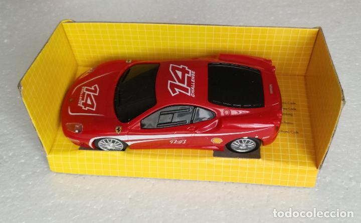 Coches a escala: Coches de coleccion Ferrari Shell V-Power: Ferrari F430 Challenge - Escala 1:38 - Foto 3 - 194743565