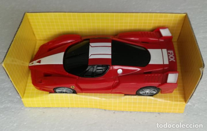 Coches a escala: Coches de coleccion Ferrari Shell V-Power: Ferrari FXX - Escala 1:38 - Foto 3 - 194743572