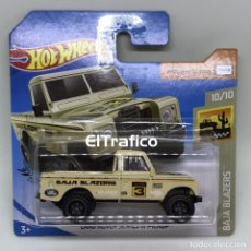 Coches a escala: HOT WHEELS LAND ROVER SERIE III PICKUP CREMA 1:64 HOTWHEELS 2020 / (1). Lote 194749145