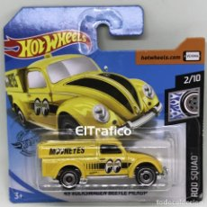 Coches a escala: HOT WHEELS VOLKSWAGEN BEETLE PICKUP 49 AMARILLO 1:64 HOTWHEELS 2020 / (2). Lote 194780521
