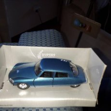 Coches a escala: BONITO CITROEN DS DE WELLY ESCALA 1/37 PERFECTO ESTADO. Lote 194900801