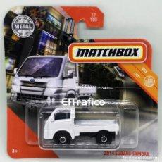 Coches a escala: MATCHBOX SUBARU SAMBAR 2014, TIPO HOT WHEELS 1:64 / (3). Lote 194938261