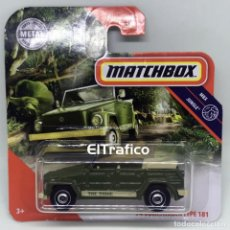Coches a escala: MATCHBOX VOLKSWAGEN TYPE 181 74, VERDE, TIPO HOT WHEELS 1:64 / (10). Lote 194938343